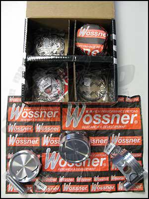 Wossner Pistons (Subaru EJ20) - Modern Automotive Performance