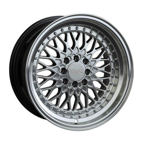 "XXR 536 ""Web Wurks"" 4x100/114.3 15"" Silver ML Wheels"