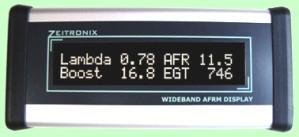 Zeitronix LCD Wideband / Boost / EGT Display - Modern Automotive Performance