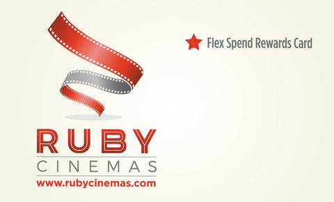Ruby Cinemas FlexSpend™ Rewards Card (Priority Mail™ Shipping)