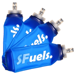 SFuels 600ml Training-Racing Soft Flask - 4 Pack