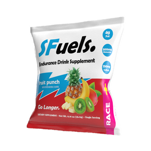 SFuels RACE+ Fruit-Punch.  10 single serve sachets