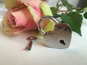You Hold The Key To My Heart Lovelock Keyring
