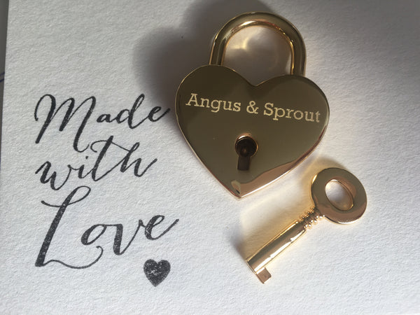 Married Couples Heart Lovelock