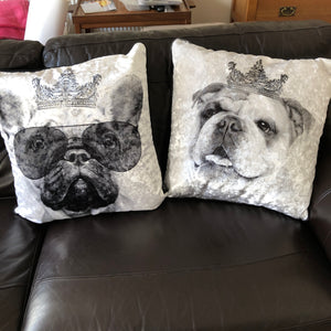 cute dog cushions