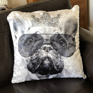 frenchie cushion