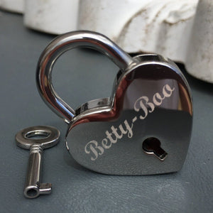 silver heart lovelock