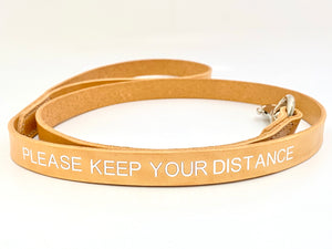 personalised dog leash