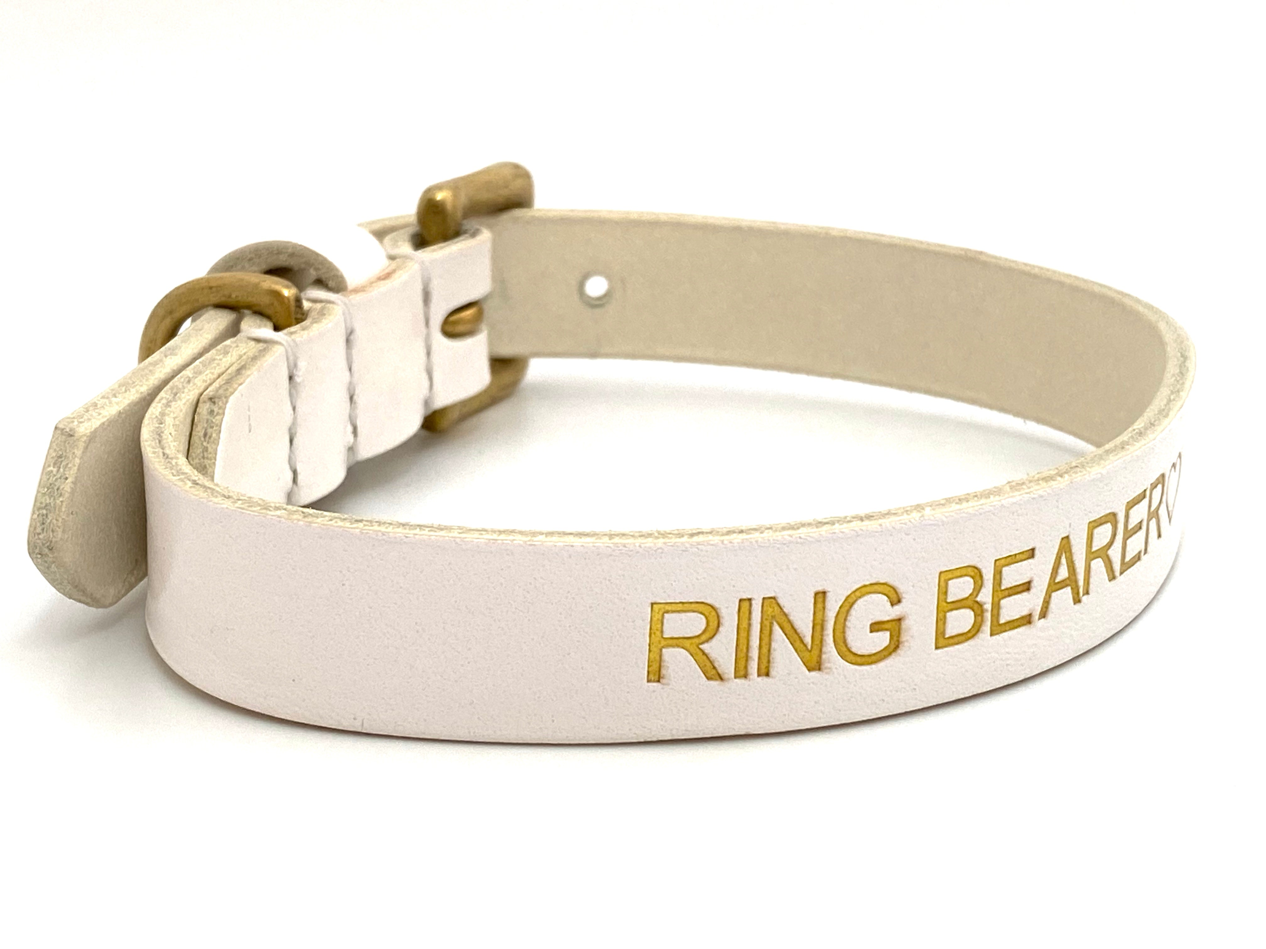 ring bearer dog collar