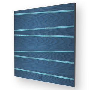 LINES ONE INLAYED WOOD WALL PANEL