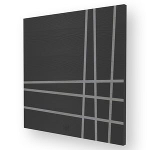 LINES TWO INLAYED WOOD WALL PANEL