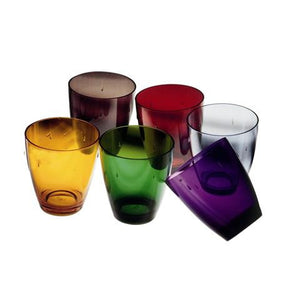UNO POLYCARBONATE 33CL GLASS BY MEPRA - Luxxdesign.com - 1