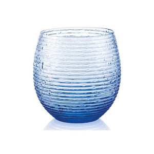 MULTICOLOR SET OF 6 WATER GLASSES