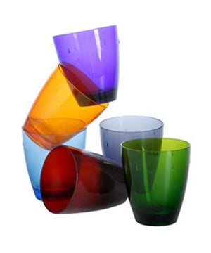 UNO POLYCARBONATE GLASSES SET BY MEPRA - Luxxdesign.com - 1
