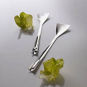 ACQUA SALAD SERVING CUTLERY BY CASA BUGATTI - Luxxdesign.com
