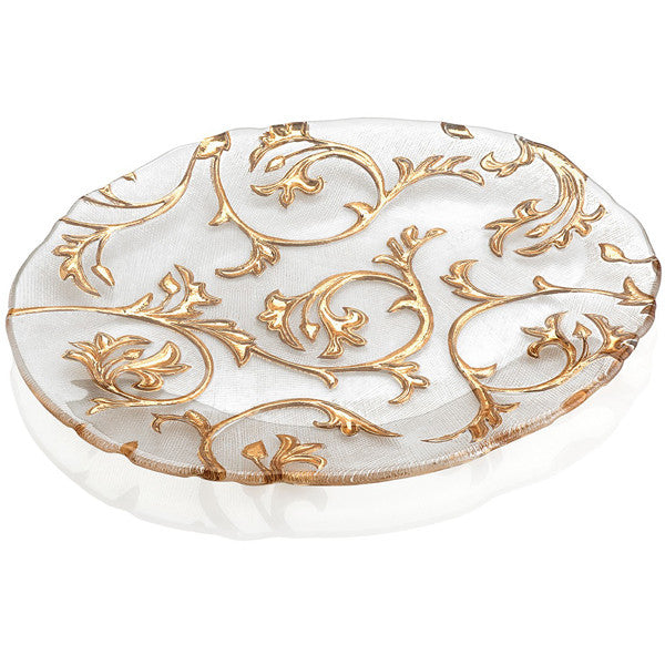 BISANZIO OVAL PLATE SET OF 6 BY IVV - Luxxdesign.com