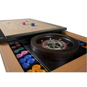 LUXOR LEATHER MULTIGAME TABLE