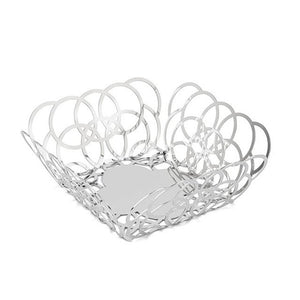 BUBBLE SQUARE SERVING BASKET BY ELLEFFE DESIGN - Luxxdesign.com