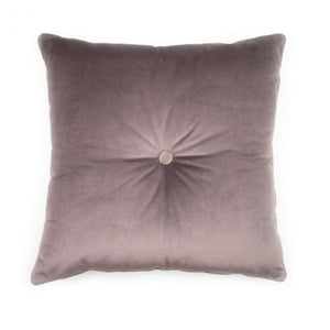 BROWN PLUME CARRE' CUSHION BY L'OPIFICIO - Luxxdesign.com - 2
