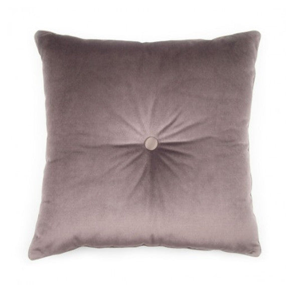 BROWN PLUME CARRE' CUSHION BY L'OPIFICIO - Luxxdesign.com - 1