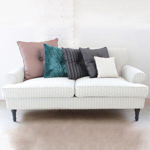 BROWN PLUME CARRE' CUSHION BY L'OPIFICIO - Luxxdesign.com - 4