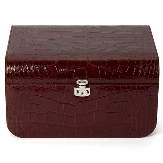 CROCCO LEATHER JEWELLERY BOX BY RENZO ROMAGNOLI - Luxxdesign.com - 1