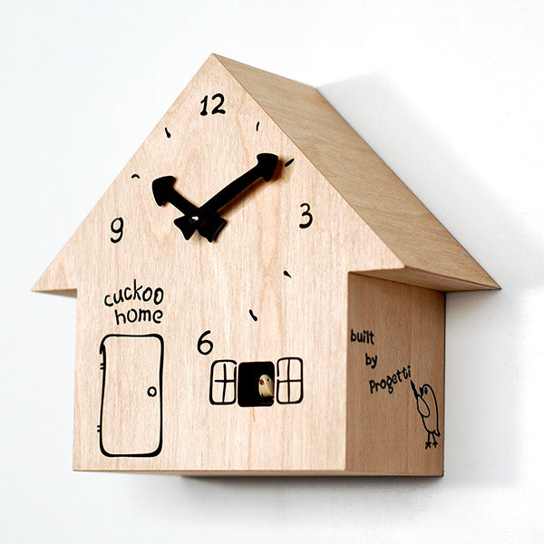 CUCKOO HOME CUCKOO CLOCK BY PROGETTI - Luxxdesign.com - 1