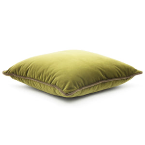 YELLOW-GREEN CARRE' CUSHION BY L'OPIFICIO - Luxxdesign.com - 1