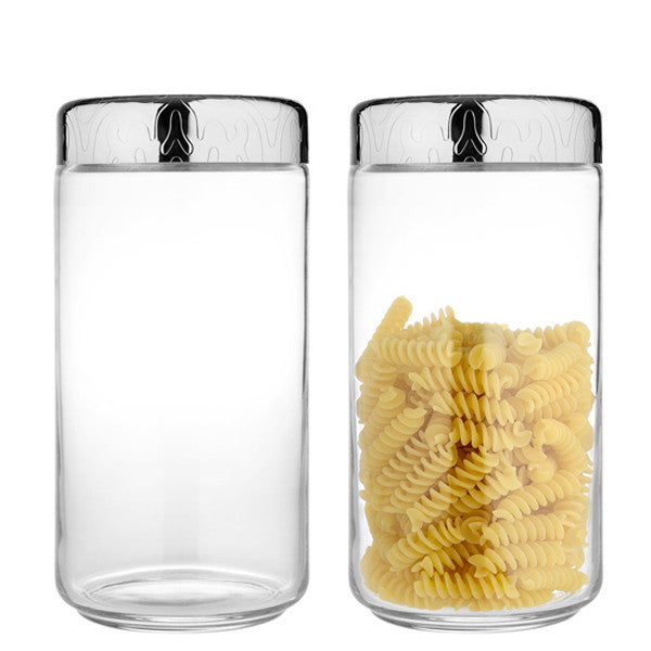 DRESSED GLASS JAR XL BY ALESSI - Luxxdesign.com