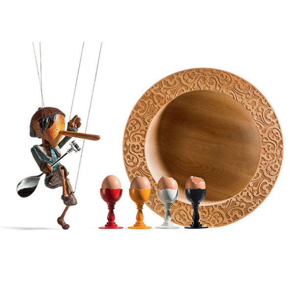 DRESSED IN WOOD CENTREPIECE BY ALESSI - Luxxdesign.com - 1