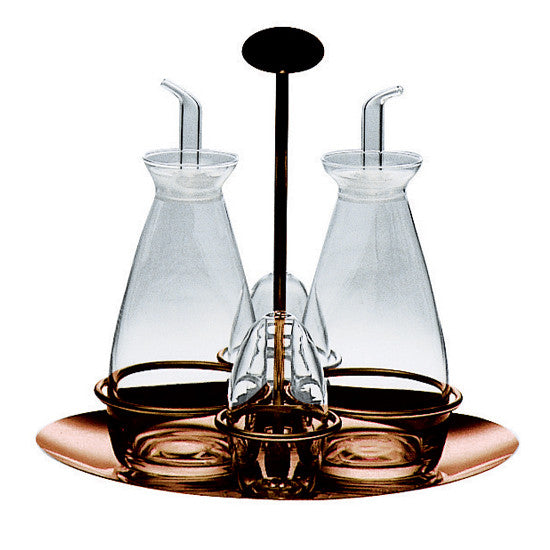 DUE BRONZO CRUET SET BY MEPRA - Luxxdesign.com