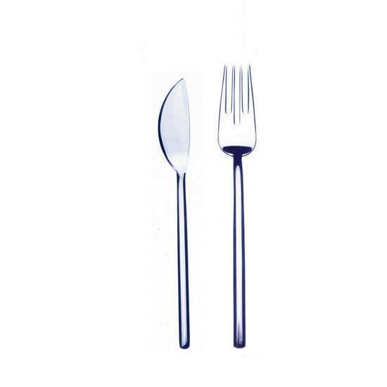 DUE 24-PIECE FISH CUTLERY SET BY MEPRA - Luxxdesign.com