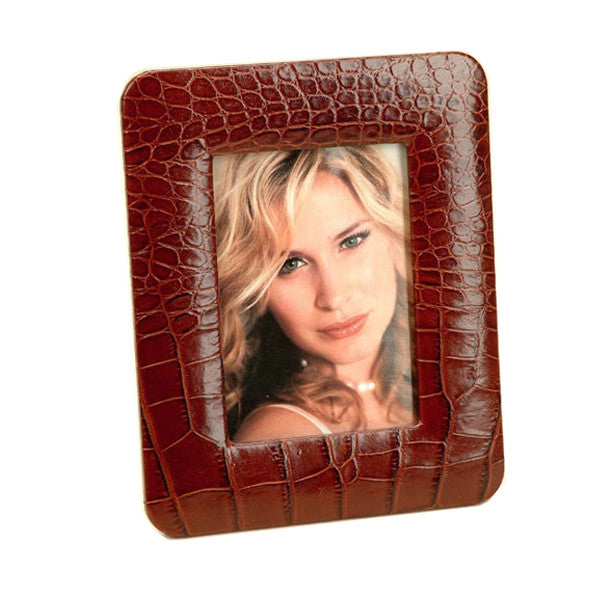 LEATHER PHOTO FRAME BY RENZO ROMAGNOLI - Luxxdesign.com - 1