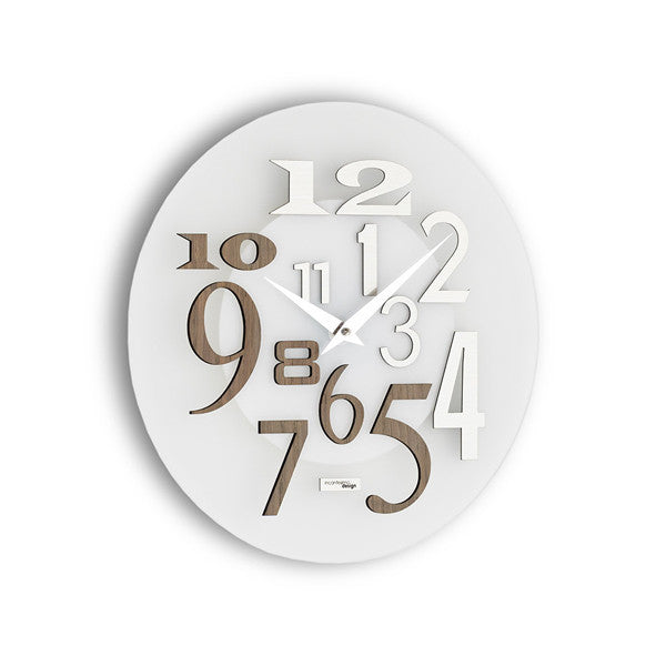 FREE WALL CLOCK BY INCANTESIMO DESIGN - Luxxdesign.com - 1
