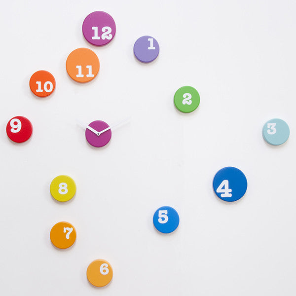 FUN TIME WALL CLOCK BY PROGETTI - Luxxdesign.com - 1
