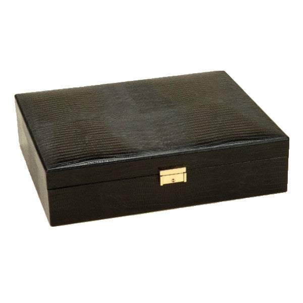 HOLD 'EM BIG LEATHER GAME BOX BY RENZO ROMAGNOLI - Luxxdesign.com - 1