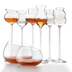 I DISTILLATI ASSORTED GOBLETS SET OF 6 BY IVV - Luxxdesign.com - 2