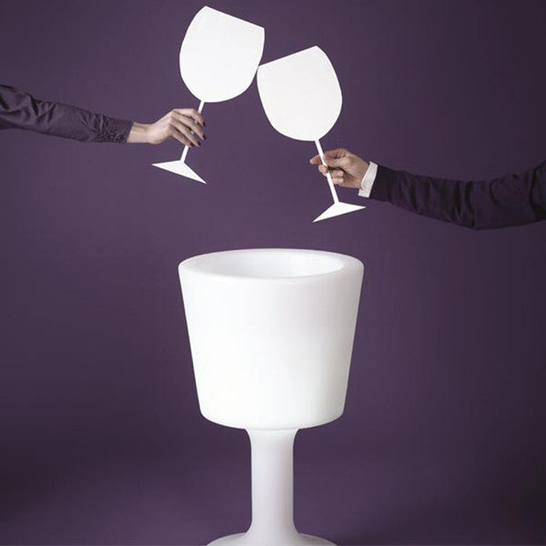 LIGHT DRINK BUCKET BY SLIDE - Luxxdesign.com - 1