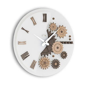 MEKKANICO WALL CLOCK BY INCANTESIMO DESIGN - Luxxdesign.com - 1