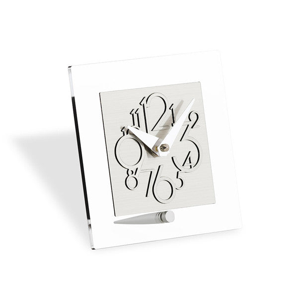 METROPOLIS TABLE CLOCK BY INCANTESIMO DESIGN - Luxxdesign.com - 1
