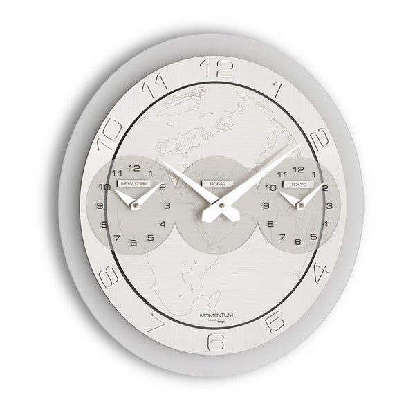 MOMENTUM TRE ORE WALL CLOCK BY INCANTESIMO DESIGN - Luxxdesign.com