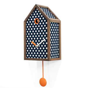 MR ORANGE CUCKOO CLOCK BY PROGETTI - Luxxdesign.com - 1