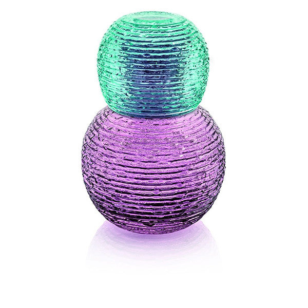MULTICOLOR NIGHT BOTTLE AND GLASS SET BY IVV - Luxxdesign.com - 1