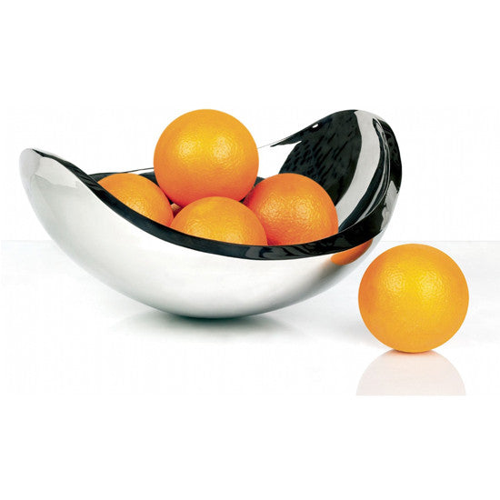 NINNANNA STAINLESS STEEL BOWL BY CASA BUGATTI - Luxxdesign.com - 1
