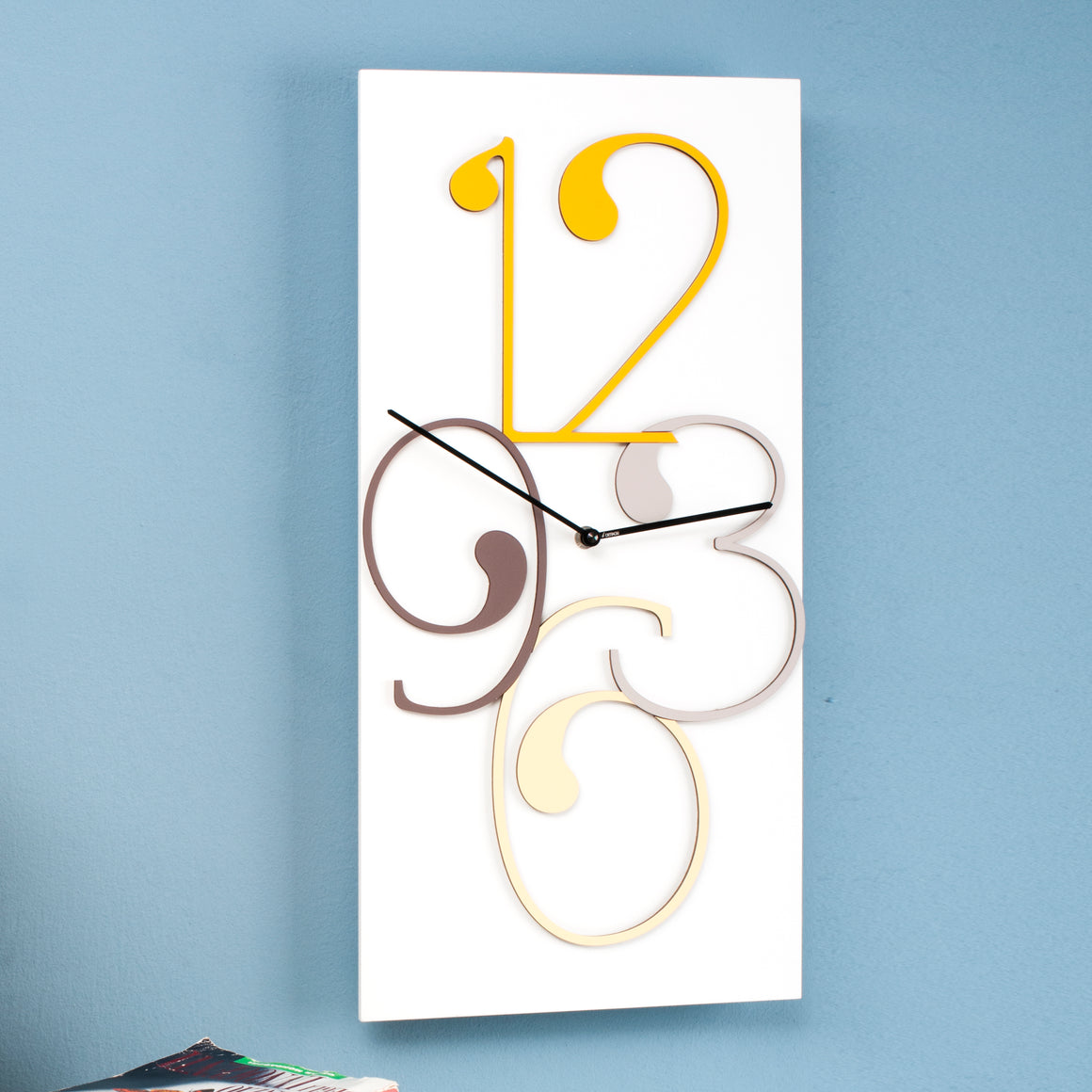VIRGOLA WALL CLOCK
