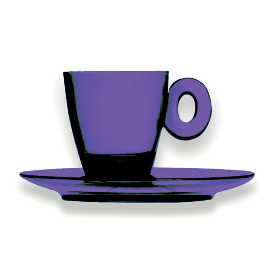 UNO POLYCARBONATE ESPRESSO CUPS SET BY MEPRA - Luxxdesign.com - 1