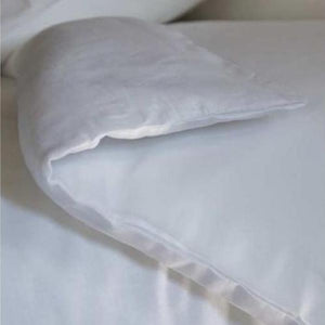 ROMY LINEN AND COTTON DOUBLE DUVET COVER