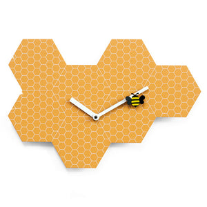TIME2BEE WALL CLOCK BY PROGETTI - Luxxdesign.com - 1