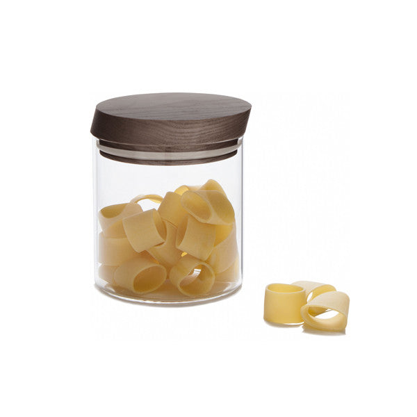 TRATTORIA GLASS JAR MEDIUM BY CASA BUGATTI - Luxxdesign.com - 1