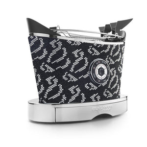 VOLO TOASTER SPARKLE OF CRYSTALS BY CASA BUGATTI - Luxxdesign.com